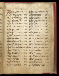 A Litany, In A Prayerbook